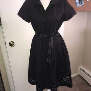 Oscar de Ła Renta black dress 12☕️